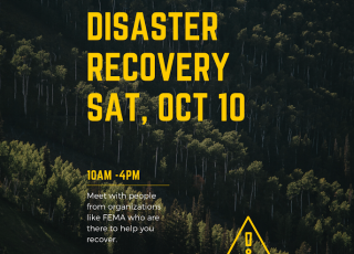 Disaster Recovery Expo at Bonny Doon Church