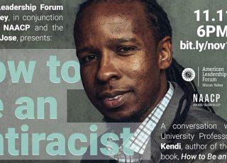 Join Ibram X Kendi's talk Nov 11